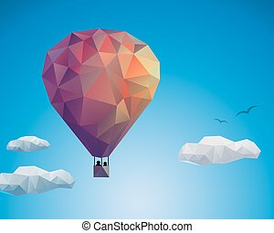 Air balloon couple
