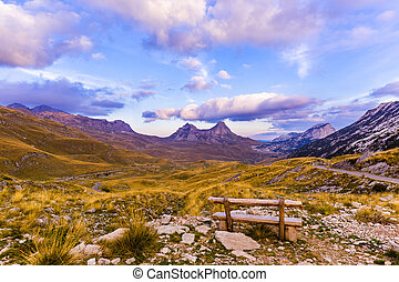 National mountains park Durmitor - Montenegro - National...