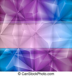 Violet-blue abstract background