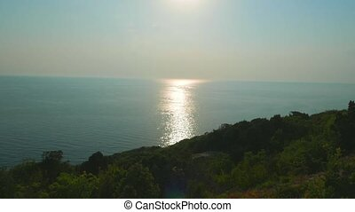 Panorama of the Black Sea coast