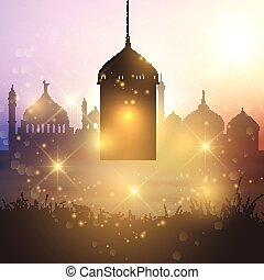 ramadan lantern - Decorative Ramadan lantern background