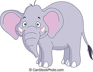 Smiley elephant