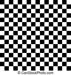 Vector checker chess square abstract background Black and...