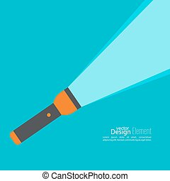 Vector background with hand