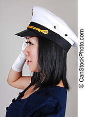 Chinese sailor girl.