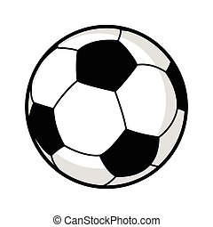 Soccer Ball - Graphic illustration of a soccer ball isolated...