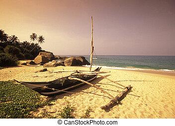 SRI LANKA NEGOMBO DHONI FISHINGBOAT - Dhoni Fishingboats at...