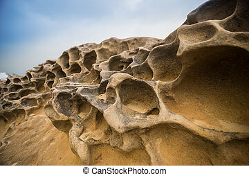 Yeliu Geo Park - Weathered rock formation at the Yeliu Geo...