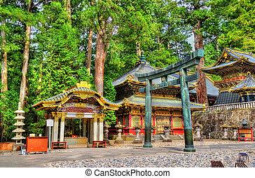 Gate of Toshogu shrine in Nikko - Japan