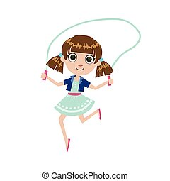 Girl With The Skipping Rope