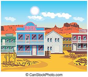wild west houses