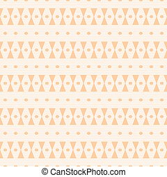 Hourglass shapes and small ovals seamless pattern - Abstract...