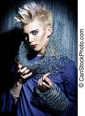 punk style - Avant-garde fashion clothing collection Punk...