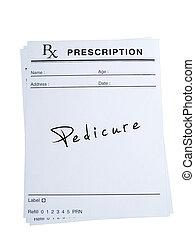 Prescription for Pedicure