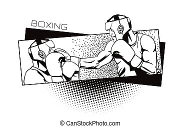 Summer kinds of sports Boxing