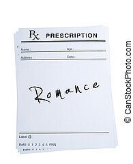 Prescription for Romance - THis is an isolated image of...