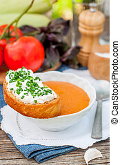 Pappa al pomodoro, Tomato and Bread Soup - Pappa al...
