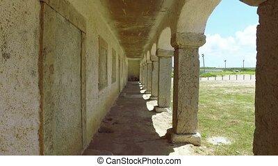 Walking Under Ancient Arches, stable shooting