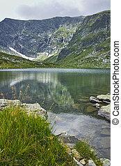 The Twin lake, Rila Mountain - amazing Landscape of The Twin...