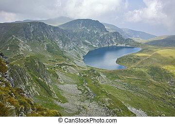 The Kidney lake, Rila Mountain - amazing Landscape of The...