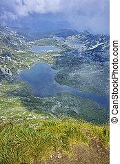 The Seven Rila Lakes, Bulgaria - Amazing landscape of The...