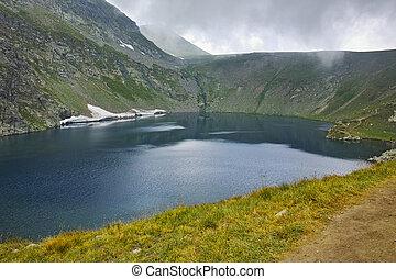 The Eye, Rila Mountain - Amazing view of The Eye lake before...