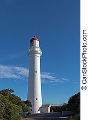 Split Point Lighthouse in Aireys Inlet, Great Ocean Road...