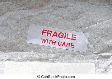Fragile mail