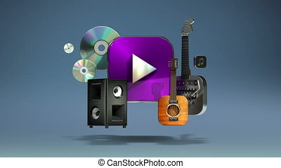 Music, instrument, download, VOD contents, Entertainment...