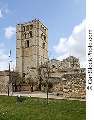 Cathedral of Zamora, Spain Example of architecture...