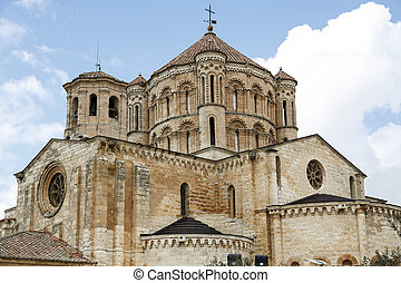 Romanesque Cathedral in the town of Toro, Spain - Romanesque...