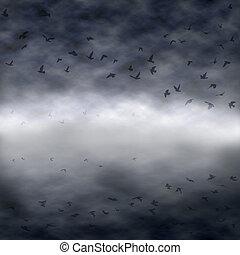 Dark flock