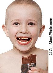 子供, チョコレート
