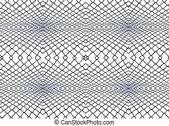 Balustrade steel pattern abstract background