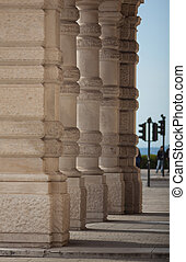 Columns in Trieste