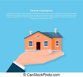Insurance Home Concept