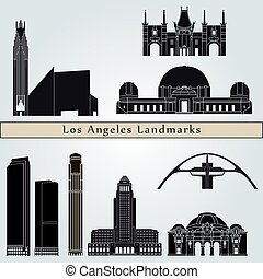 Los Angeles landmarks and monuments
