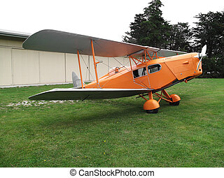 De Havilland Foxmoth - De Havilland DH 83 Foxmoth biplane...