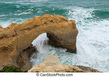 The Arch, Great Southern Ocean at Port Campbell National...