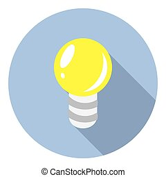 Electric Light Bulb Symbol