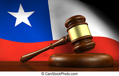 Chile Law Legal System Concept - Chile law, legal system and...
