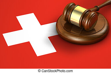 Switzerland Law Legal System Concept - Switzerland law,...
