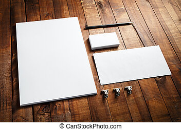 Blank corporate identity - Blank stationery and corporate...