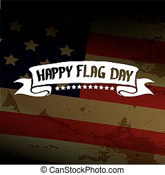 Happy flag day vector background. flag day USA banner.