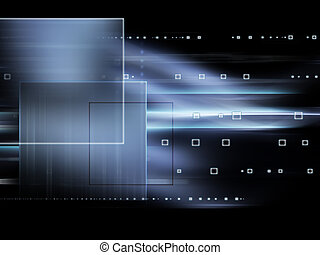 Futuristic technology abstract background