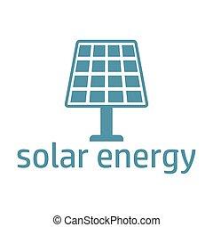 green energy logo solar panel - Ecology logo, green logo...