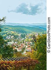 Castle Wernigerode in Germany. Harz. - Historical Castle...