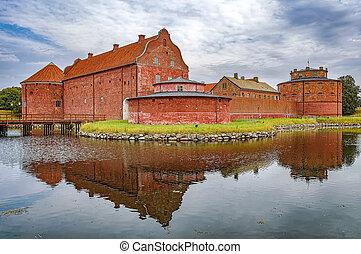 Landskrona Citadel in Sweden - An image of the Landskrona...