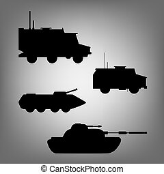 Military equipment. Military transport. Ground forces,...