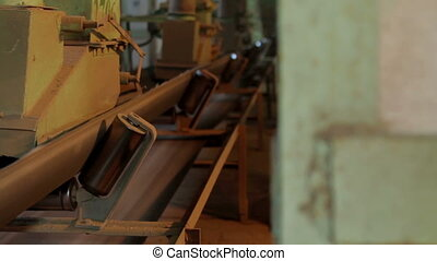 Plant for the production of feed for animals - the old plant...
